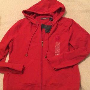 NWT Liz Claiborne zip-up hoodie